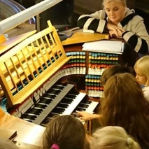 Music camp Antonen Palvelu 2019 Organ music for children
